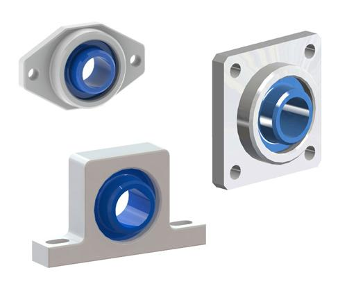Plastic Mounted Bearings