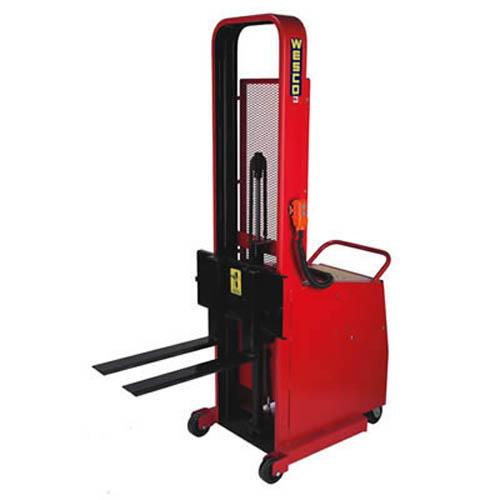 Wesco Powered Stacker - Counter Balanced Fork Model