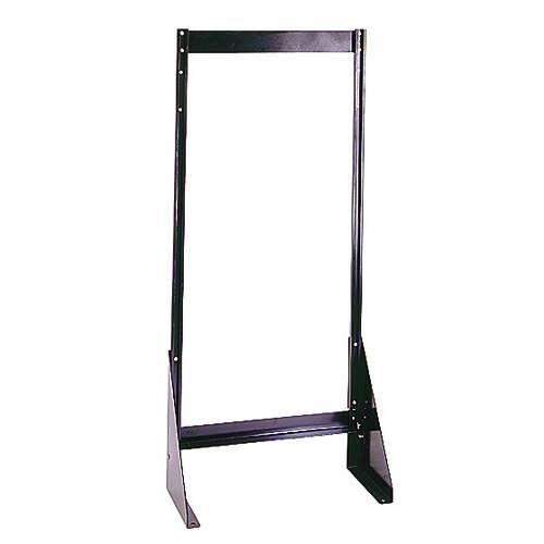 Quantum Clear Tip Out Bin Wall Frames or Single- or Double-Sided Stands