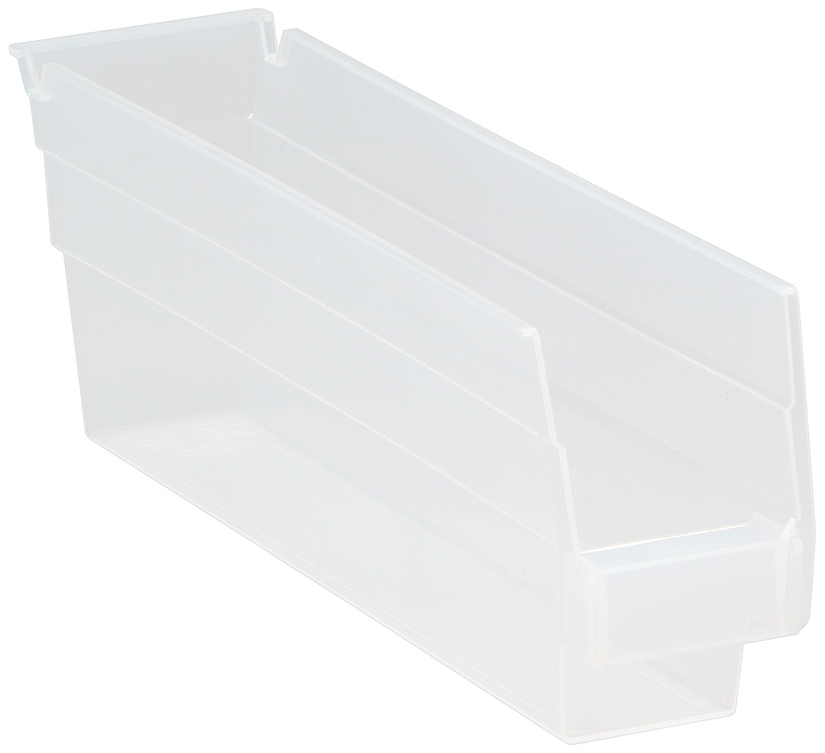 Clear-View Economy Shelf Bins, Model QSB100CL
