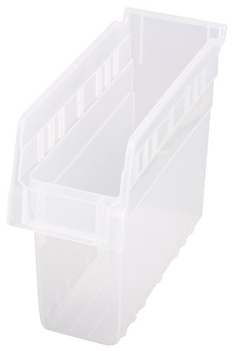 Quantum Clear-View Store-Max Shelf Bin, Model QSB-801CL