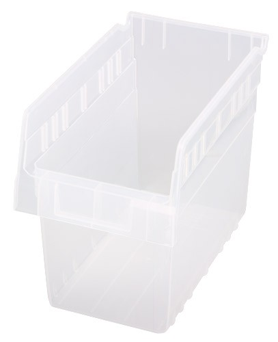 Quantum Clear-View Store-Max Shelf Bin, Model QSB-802CL