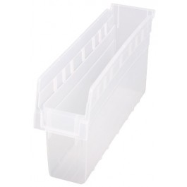 Quantum Clear-View Store-Max Shelf Bin, Model QSB-803CL
