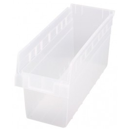 Quantum Clear-View Store-Max Shelf Bin, Model QSB-804CL