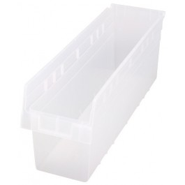 Quantum Clear-View Store-Max Shelf Bin, Model QSB-806CL
