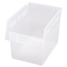 Quantum Clear-View Store-Max Shelf Bin, Model QSB-807CL
