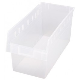 Quantum Clear-View Store-Max Shelf Bin, Model QSB-808CL