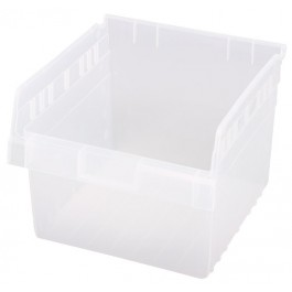 Quantum Clear-View Store-Max Shelf Bin, Model QSB-809CL