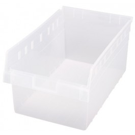 Quantum Clear-View Store-Max Shelf Bin, Model QSB-810CL