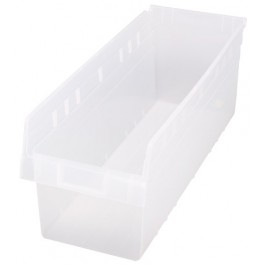 Quantum Clear-View Store-Max Shelf Bin, Model QSB-814CL