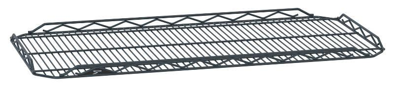 Metro qwikSLOT Drop Mat Designer Color Shelving - Matte Black