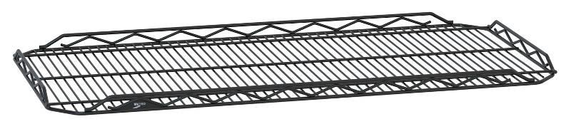 Metro qwikSLOT Drop Mat Shelves - Black