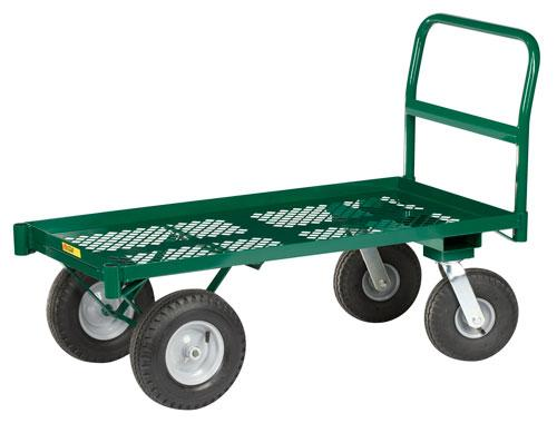 Little Giant Raised Height Nursery Platform Truck Model No. NP-2448-G