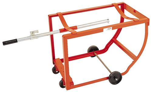 MECO OMAHA Rock-It Barrel Lift and Stand with Zinc Handle