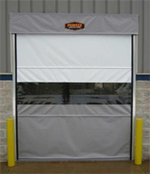 Pioneer RollRight Fabric Roll-Up Doors