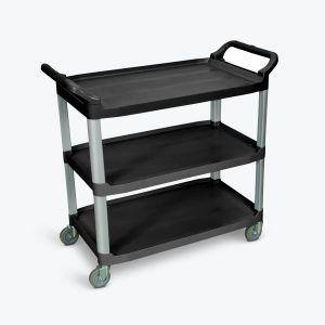 LUXOR Large Serving Cart - Three Shelves
