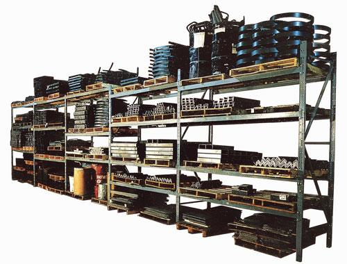 Meco Omaha Selective Structural Pallet Rack