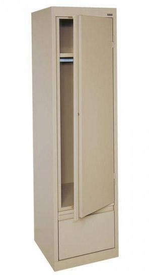 Sandusky System Series Single Door Wardrobe