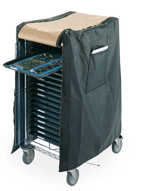 Metro SmartTray ESD Cart Covers
