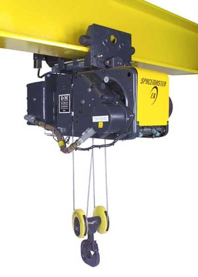 R&M Spacemaster EX Electric Wire Rope Hoist