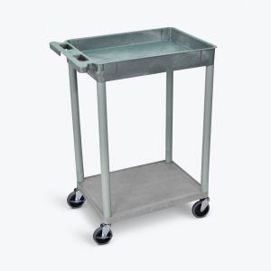 LUXOR Top Tub and Bottom Flat Shelf Cart