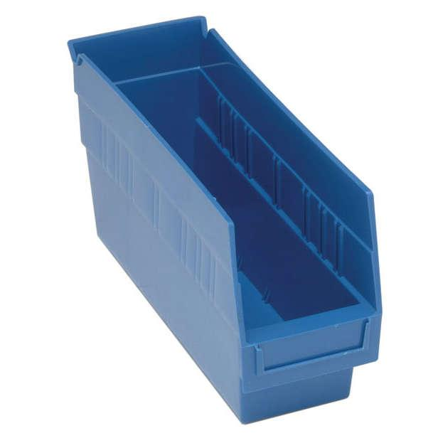 "Quantum Store-More 6"" Shelf Bins Model No. QSB201-B"