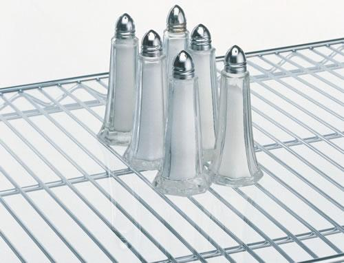 Metro Super Erecta Clear Shelf Inlays