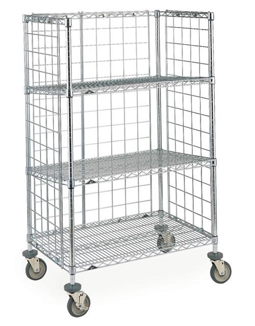Metro Super Erecta Slanted Shelf Trucks and Carts