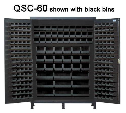 Quantum Super Wide Colossal Heavy Duty Cabinets QSC-60 black
