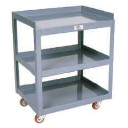 Meco Omaha Tool Cart - Three Shelf Models