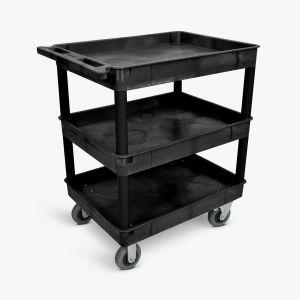 LUXOR Large Tub Cart - Three Shelves