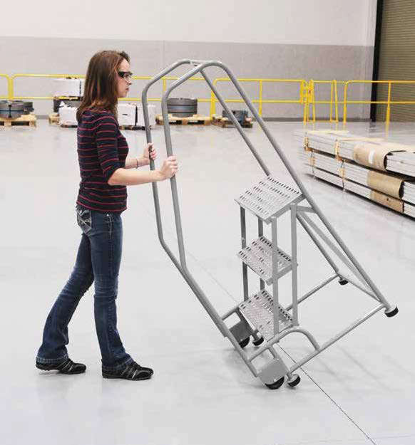 Cotterman Tilt n Roll Ladder