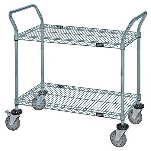 Quantum Gray Epoxy Wire Utility Carts