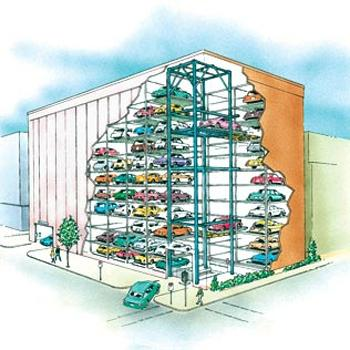 PFlow Robotic Parking Garage