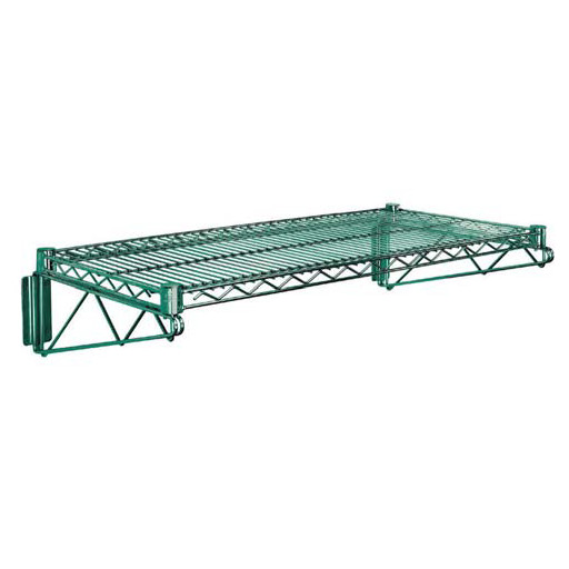 Quantum Direct Wall Mount Cantilever Single Shelf - Proform Green Epoxy Finish