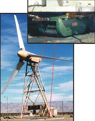 Hilman Rollers Wind Power Machine