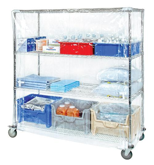 Quantum Wire Cart Covers Clear Vinyl
