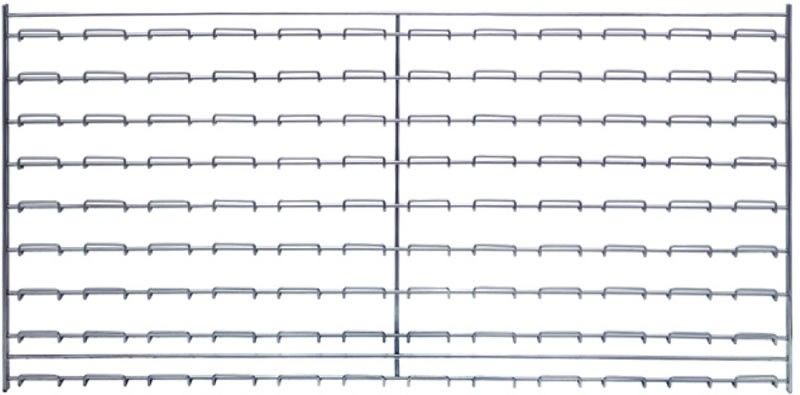 Wire Louvered Panels From Quantum Storage